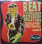 "2x10""• BEAT FROM BADSVILLE Vol.3• Trash Classics from Lux & Ivy's Vinyl Mountain"